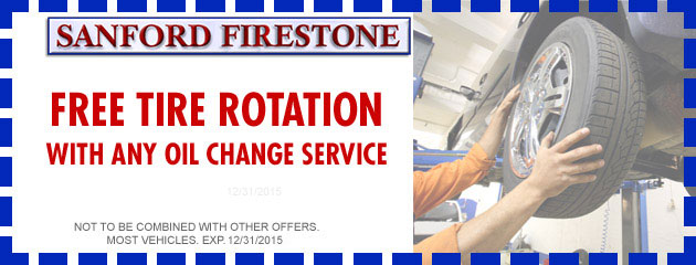 FREE Tire Rotation with Oil Change