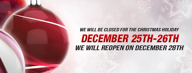 Christmas Closed 25-26 RW
