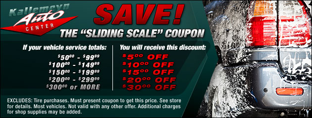 Sliding Scale Discounts