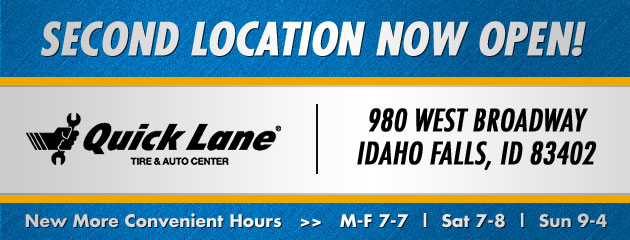 Idaho Falls Id Tires Auto Repair Shop Quick Lane Tire Auto Center