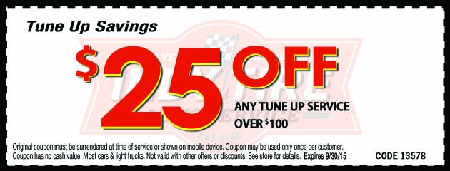 $25 Off Tune Up