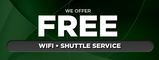 Free WIfi, Shuttle, and Loaner Cars