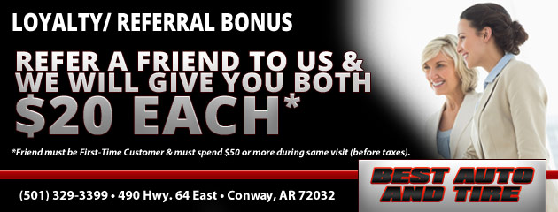 Loyalty/Referral Bonus!