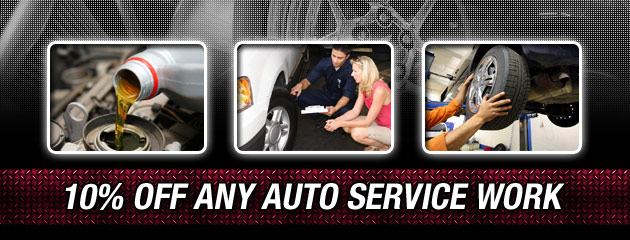 10 Percent Off Any Auto Service