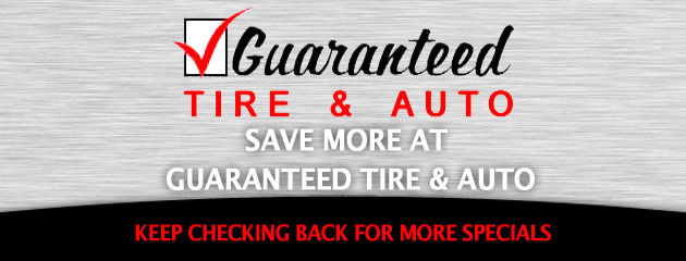 Guaranteed Tire & Auto_Coupons Specials