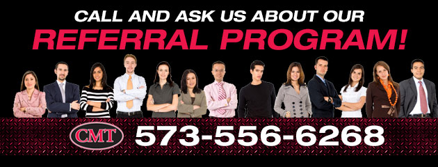 Ask Us About Our Referral Program!