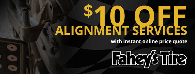 $10 off alignment service with instant online price quote