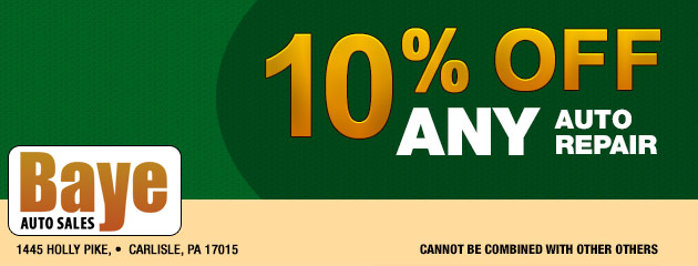 10% Off Any Auto Repair