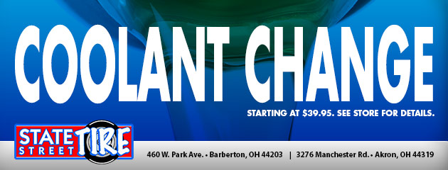 Coolant Change Starting At $39.95