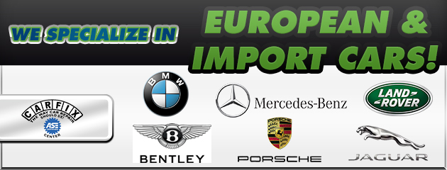 we specialize in european cars