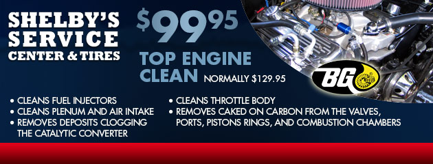 $99.95 top engine clean