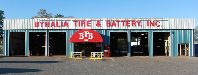 Byhalia Tire & Battery Building