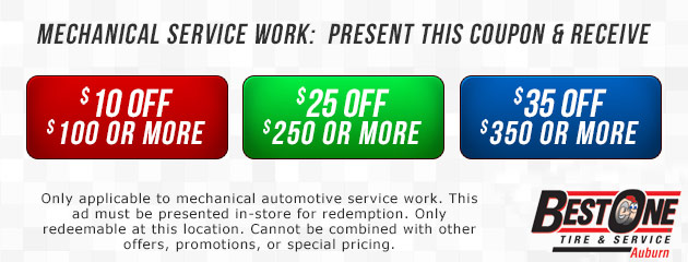 Mechanical Service Work Coupon