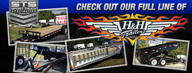 Check out our Full Line of H & H Trailers!