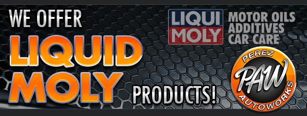 We offer Liquid Moly products!
