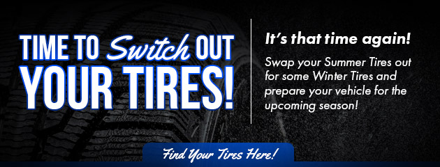 time to switch out your tires
