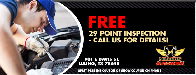 FREE 29 Point Inspection