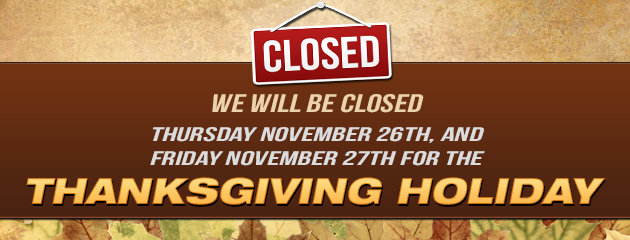 Whitley Thanksgiving Hours