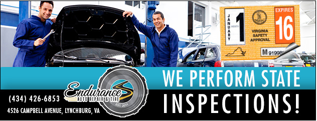 We Perform State Inspections!