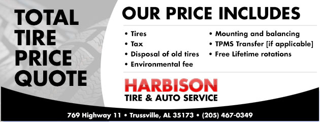 Total Tire Price Quote