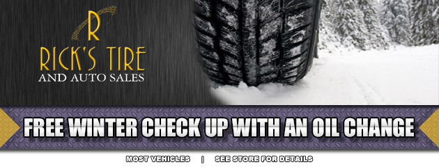 Free winter check with an oil change