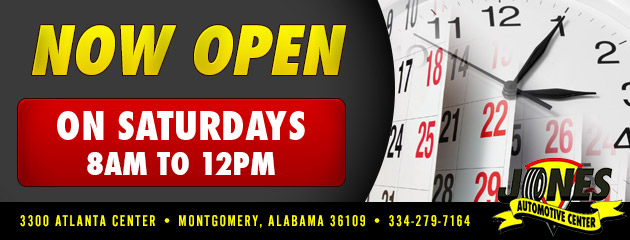 Now Open On Saturdays 8am to 12pm