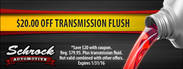 Save $20.00 On a Transmission Flush