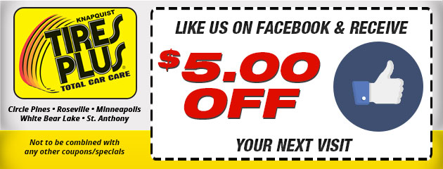 Like Us on Facebook & receive $5 OFF your next visit