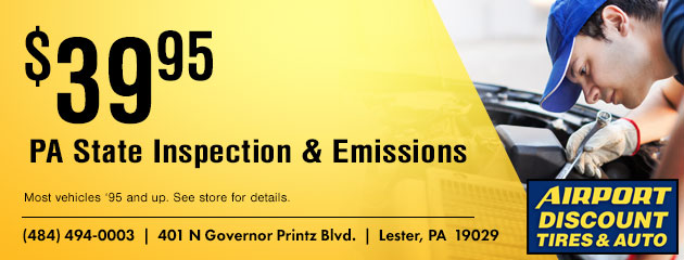 $39.95 State Emissions Inspection Coupon