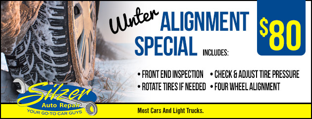 Winter Alignment Special