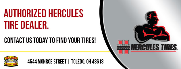 Authorized Hercules Tire Dealer.