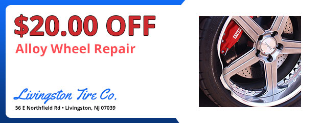 $20.00 Off Alloy Wheel Repair