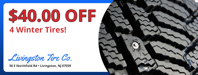 $40.00 Off 4 Winter Tires!