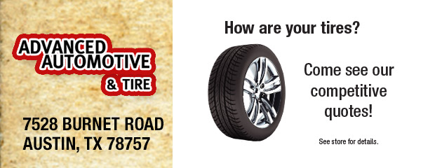 How are your tires? Come see our competitive quotes!