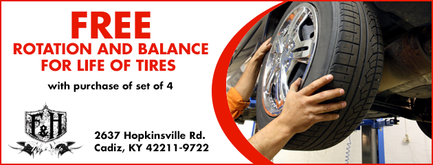 Free Rotation and Balance for life of tires