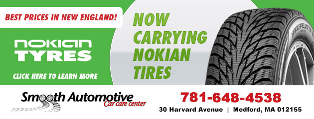 Now Carrying Nokian Tires - Best Prices in New England!
