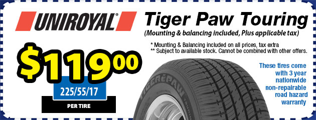 Uniroyal Tiger Paw Touring