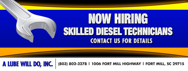 Now Hiring Skilled Diesel Technicians