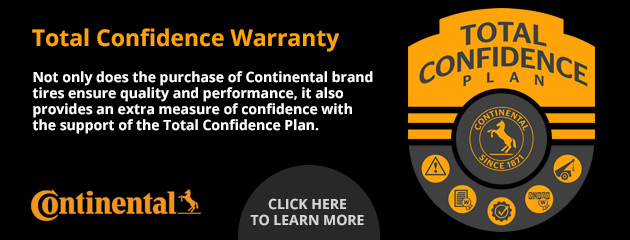 Continental Total Confidence Warranty