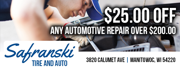 $25.00 Off Any Automotive Repair Over $200.00