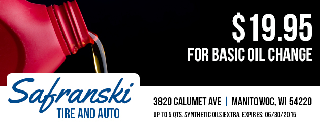 $5.00 OFF Synthetic Oil Change