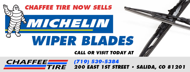 Chaffee Tire now sells MICHELIN Wiper Blades