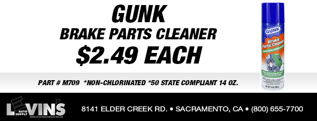 Gunk Brake Parts Cleaner