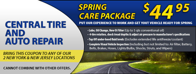 Spring Car Care Pacakge