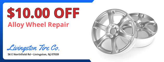 Alloy Wheel Repair - $10.00 Off
