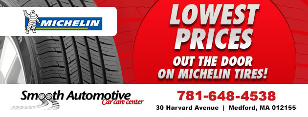 Lowest Prices out the door on Michelin Tires!