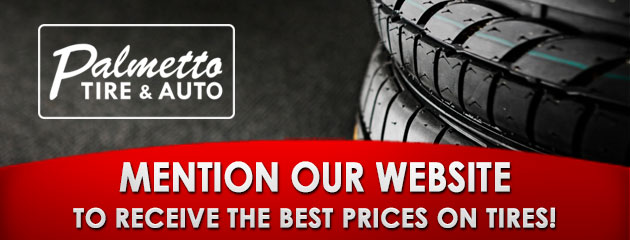Mention Our Website to Receive the Best Prices on Tires!