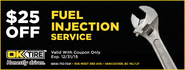 Fuel Injection Service $25.00 Off
