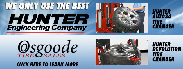 Hunter Tire Changers