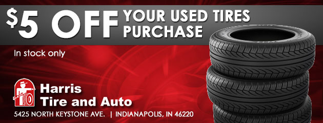 $5 off your used tires purchase